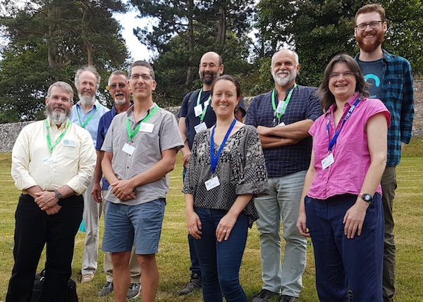 Distance Development team meeting at the International Statistical Ecology Conference, Summer 2018